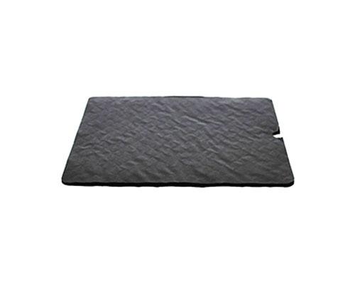 Cushion pad 165x165mm brown