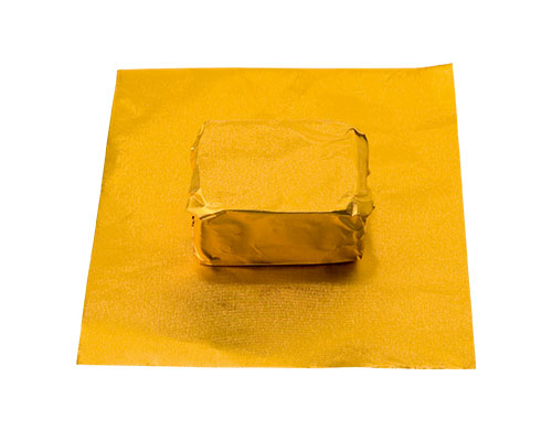 alu sheet 600x400mm old gold no. 31 /100 sheets