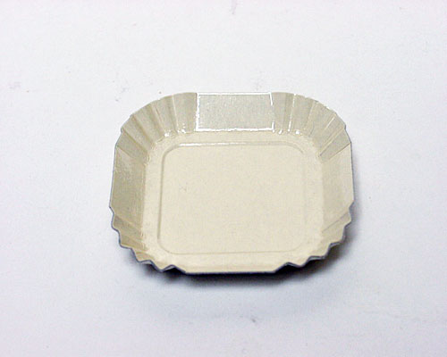 Bordje square 55x55mm ecru