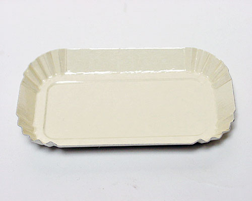 Bordje rectangular 80x40mm ecru