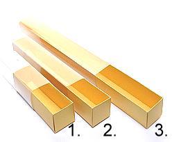 truffelbox 4 112x30x30mm goldyellow