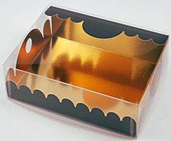 box Marquis rectangular large noir laque