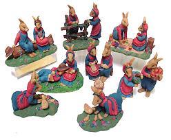 RabbitFamily Group 10Pcs Blue/PinkMix