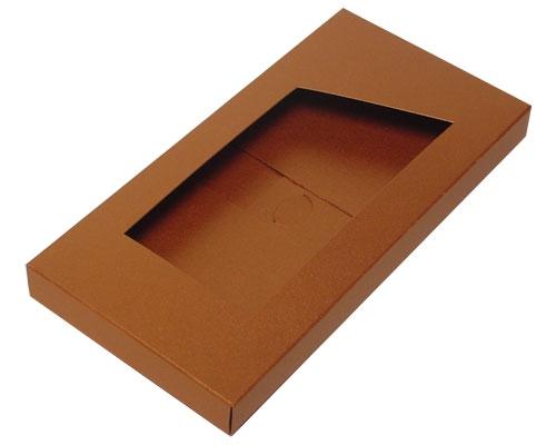 Box for chocolate bar nm coppertin