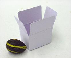 Box 1 choc, softlila