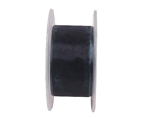 organza wired edge, anthracite