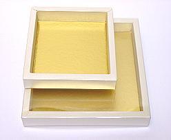 Windowbox 126x126x24mm interior ivorytwist