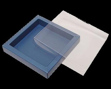 Bonbondoosje van karton icm transparant
