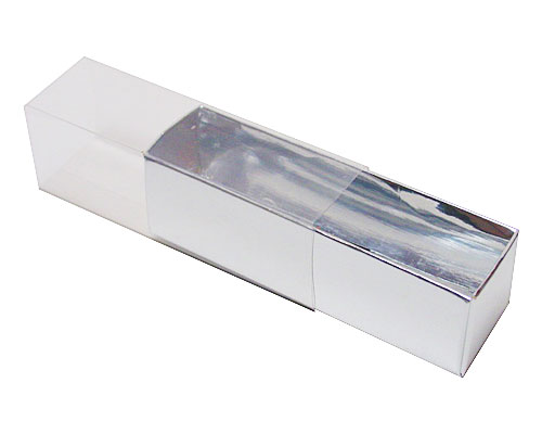 truffelbox 4 112x30x30mm silvershine
