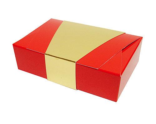 Ballotin enveloppe 142x90x35mm rouge laque