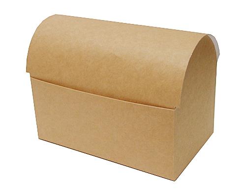koffer 1000 gr 195x115x135mm kraft-brown