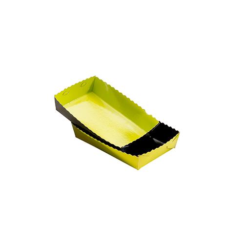 Dessert tray 160x100x35mm green-black