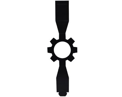 Sleeve cog-wheel black for sleeve-me box