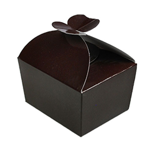 Box 250 gr  butterfly chocolat laque