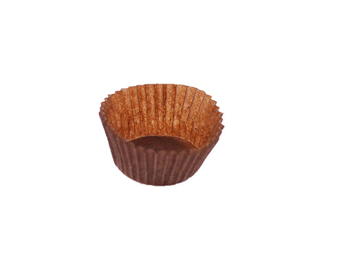 Papercups LOW to put chocolates in brown 1000 pcs in box