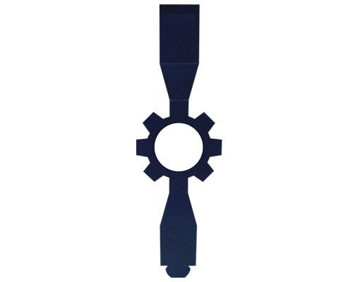 Sleeve cog-wheel blueberryblue for sleeve-me box