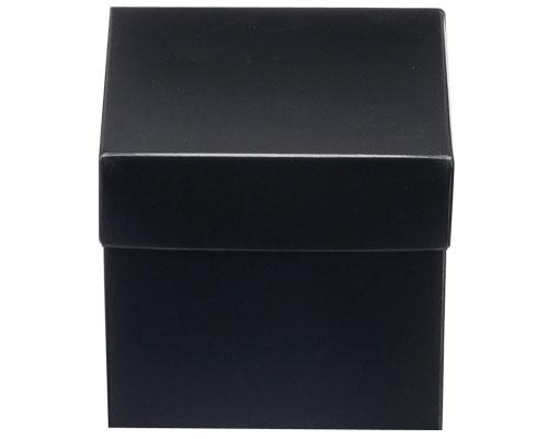Cubebox 100x100x95mm Duomat black- Shiny black