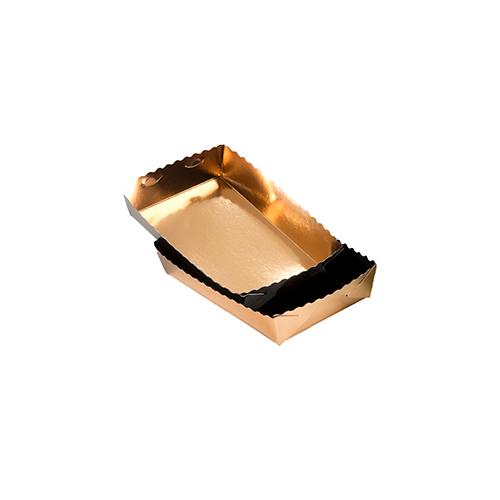 Dessert tray 160x100x35mm gold-black