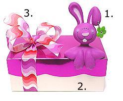 1. Rabbit ceramic hopsi