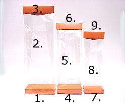 Arosabase 120x70x18mm orange