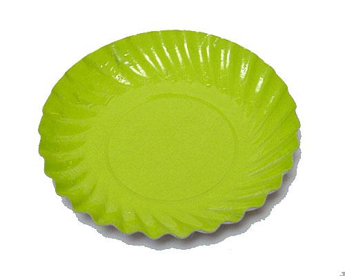 Bordje rond dia 88mm green