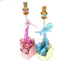 RabbitCakeDesignPick cer.Ass. Brown/Pink/Blue