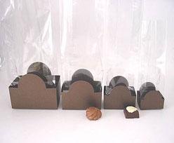 halfmoon tray bronztwist L60xW50xH47mm