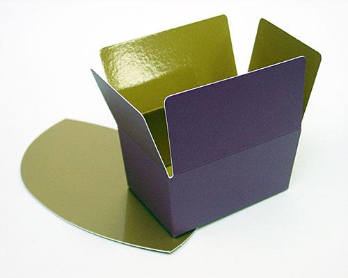 Ballotin, 125gr. Duo Djerba purple-copper