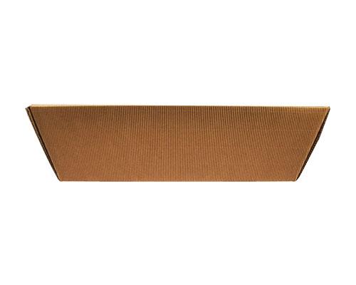 Basket rectangle high medium L352xW210/ H112 mm kraft