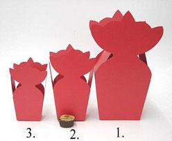 krooncornet small 50x30x50mm red