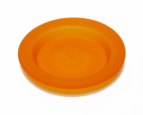 deko bord orange