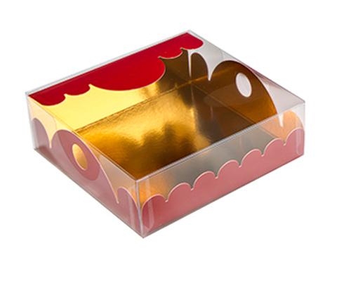 box Marquis square small brique laque