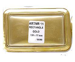 no. 11 rectangular / price per 10.000 pcs