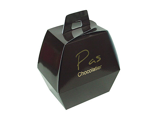 Easteregg box no. 1 XS chocolat laque