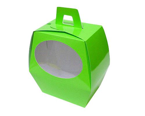 Easteregg box L no 4 vert pomme Window
