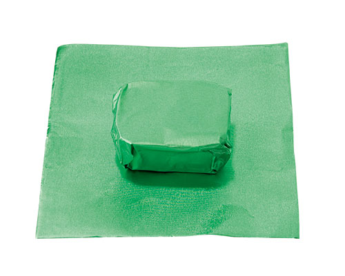 alu sheet 600x400mm green no. 15 /100 sheets