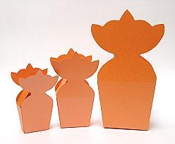 krooncornet small 50x30x50mm orange