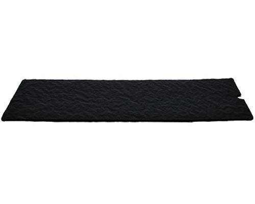 Cushion pad 295x122mm black